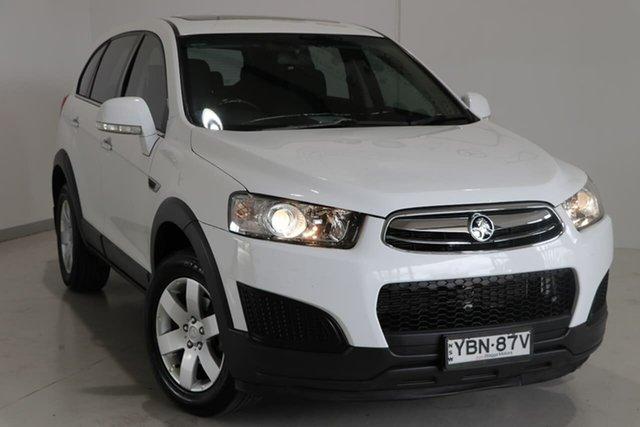 Used Holden Captiva CG MY14 7 LS Wagga Wagga, 2014 Holden Captiva CG MY14 7 LS White 6 Speed Sports Automatic Wagon