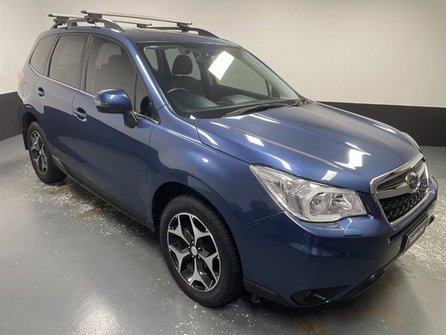 Used Subaru Forester S4 MY13 2.5i-S Lineartronic AWD Hamilton, 2013 Subaru Forester S4 MY13 2.5i-S Lineartronic AWD Marine Blue 6 Speed Constant Variable Wagon