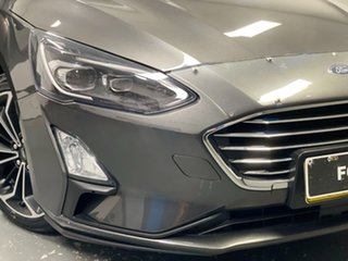 2018 Ford Focus SA 2019MY Titanium Grey 8 Speed Automatic Hatchback.