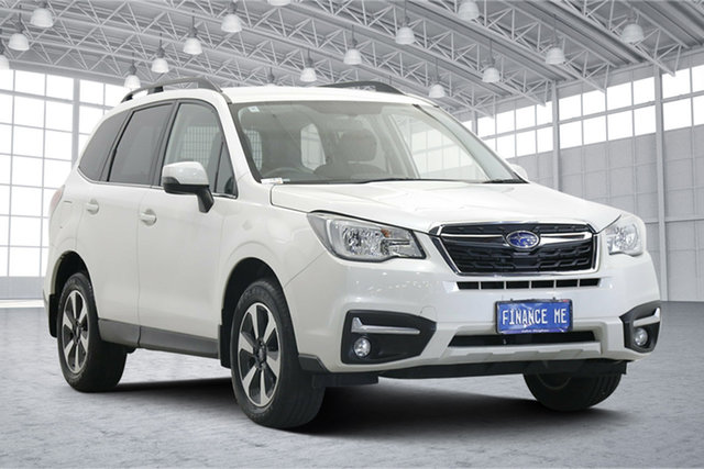 Used Subaru Forester S4 MY18 2.5i-L CVT AWD Victoria Park, 2018 Subaru Forester S4 MY18 2.5i-L CVT AWD Crystal Pearl 6 Speed Constant Variable Wagon