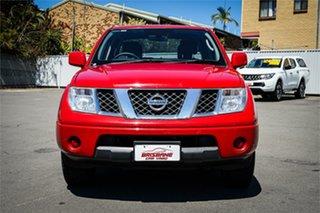 2015 Nissan Navara D40 S9 Silverline SE Red 5 Speed Automatic Utility.