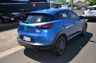 2017 Mazda CX-3 DK Maxx (FWD) Blue 6 Speed Automatic Wagon.