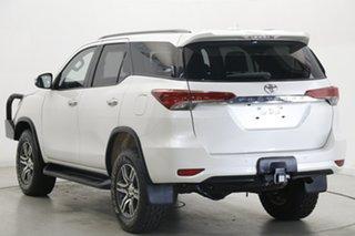 2016 Toyota Fortuner GUN156R GXL White 6 Speed Automatic Wagon.