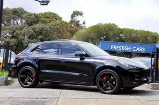 2017 Porsche Macan 95B MY17 GTS PDK AWD Black 7 Speed Sports Automatic Dual Clutch Wagon.