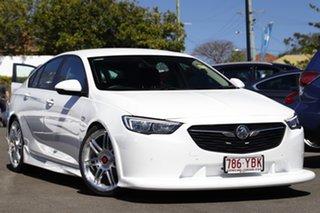 2017 Holden Commodore ZB MY18 RS Liftback White 9 Speed Sports Automatic Liftback.