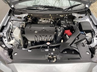2015 Mitsubishi Lancer CJ MY15 ES Sport Silver 6 Speed Constant Variable Sedan.