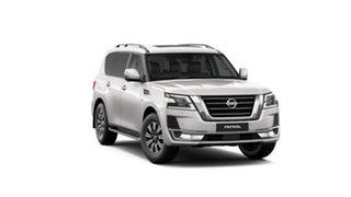 2021 Nissan Patrol Y62 MY21 TI-L Moonstone White 7 Speed Sports Automatic Wagon