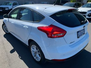 2017 Ford Focus LZ Trend White 6 Speed Automatic Hatchback.