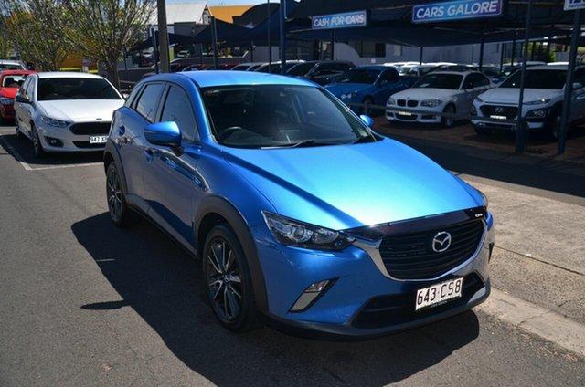 Used Mazda CX-3 DK Maxx (FWD) Toowoomba, 2017 Mazda CX-3 DK Maxx (FWD) Blue 6 Speed Automatic Wagon