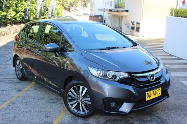 Used Honda Jazz GF MY16 VTi-L Waitara, 2016 Honda Jazz GF MY16 VTi-L Grey 1 Speed Constant Variable Hatchback