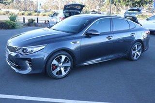 2016 Kia Optima JF MY17 GT Platinum Graphite 6 Speed Sports Automatic Sedan.