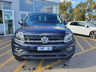 2018 Volkswagen Amarok 2H MY18 TDI420 4MOTION Perm Core Plus Blue 8 Speed Automatic Utility.