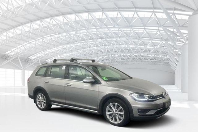 Used Volkswagen Golf AU MY18 Alltrack 132 TSI Moorebank, 2018 Volkswagen Golf AU MY18 Alltrack 132 TSI Grey 6 Speed Direct Shift Wagon