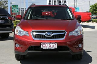 2012 Subaru XV G4X MY12 2.0i-L Lineartronic AWD Camellia Red Pearl 6 Speed Constant Variable Wagon.