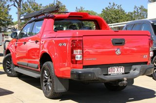 2016 Holden Colorado RG MY17 Z71 Pickup Crew Cab Red 6 Speed Manual Utility