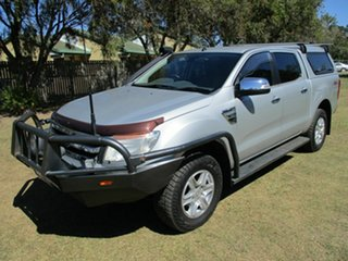 2012 Ford Ranger PX XLT Double Cab Silver 6 Speed Sports Automatic Utility