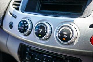 2012 Mitsubishi Triton MN MY12 GLX-R Double Cab Grey 5 Speed Manual Utility