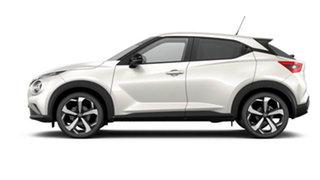 2021 Nissan Juke F16 ST-L DCT 2WD Ivory Pearl 7 Speed Sports Automatic Dual Clutch Hatchback