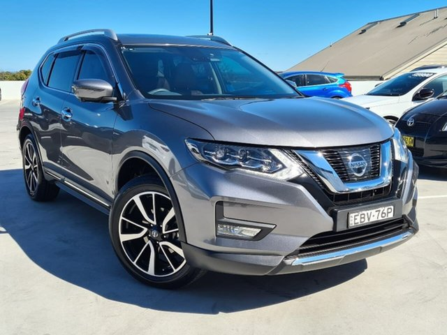 Used Nissan X-Trail T32 Series II Ti X-tronic 4WD Liverpool, 2019 Nissan X-Trail T32 Series II Ti X-tronic 4WD Grey 7 Speed Constant Variable Wagon