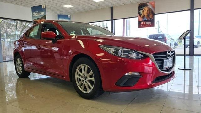 Pre-Owned Mazda 3 BM5278 Neo SKYACTIV-Drive Wonthaggi, 2015 Mazda 3 BM5278 Neo SKYACTIV-Drive Red 6 Speed Sports Automatic Sedan