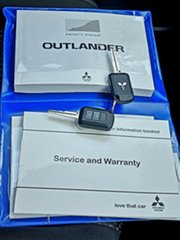 2017 Mitsubishi Outlander ZK MY17 LS 4WD Safety Pack Titanium 6 Speed Constant Variable Wagon