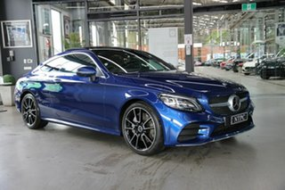 2019 Mercedes-Benz C-Class C205 809MY C300 9G-Tronic Blue 9 Speed Sports Automatic Coupe