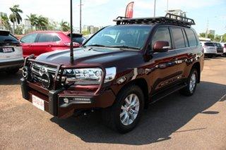2019 Toyota Landcruiser VDJ200R VX Copper Brown 6 Speed Automatic Wagon.
