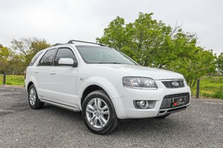 2011 Ford Territory SY MkII TS RWD Limited Edition White 4 Speed Sports Automatic Wagon.