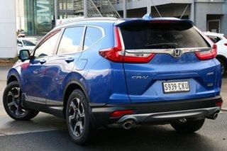 2019 Honda CR-V RW MY20 VTi-LX 4WD Brilliant Sporty Blue 1 Speed Constant Variable Wagon.