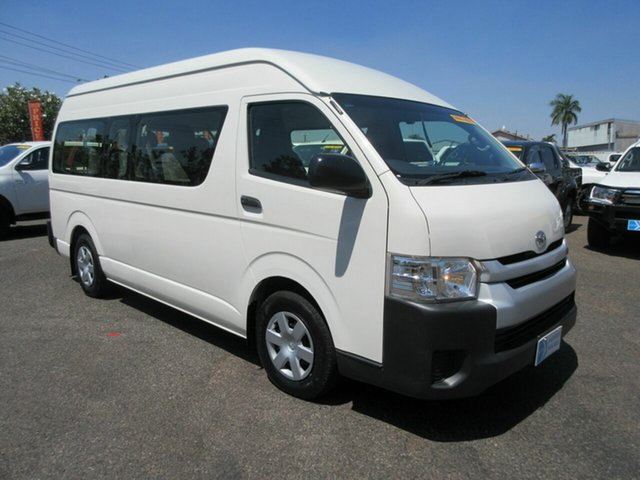 Used Toyota HiAce Winnellie, 2016 Toyota HiAce COMMUTER HIGH R White 6 Speed Automatic Mini Bus