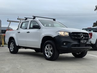 2018 Mercedes-Benz X-Class 470 X250d 4MATIC Pure White 7 Speed Sports Automatic Utility