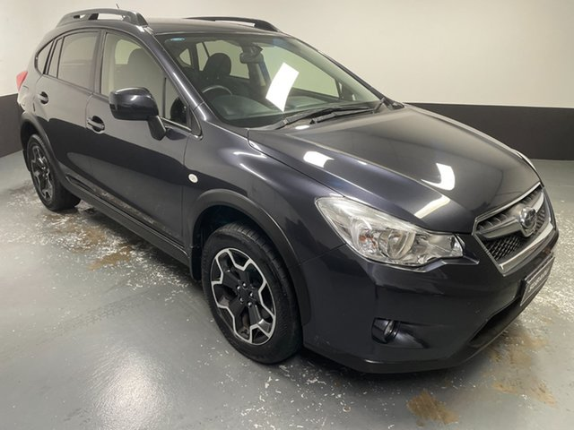 Used Subaru XV G4X MY14 2.0i Lineartronic AWD Rutherford, 2014 Subaru XV G4X MY14 2.0i Lineartronic AWD Dark Blue 6 Speed Constant Variable Wagon