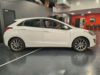 2013 Hyundai i30 GD2 SR White 6 Speed Manual Hatchback