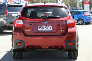 2012 Subaru XV G4X MY12 2.0i-L Lineartronic AWD Camellia Red Pearl 6 Speed Constant Variable Wagon