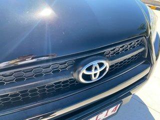 2012 Toyota RAV4 ACA33R MY12 Cruiser Black 4 Speed Automatic Wagon