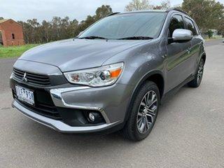 2017 Mitsubishi ASX XC XLS Silver Constant Variable Wagon.
