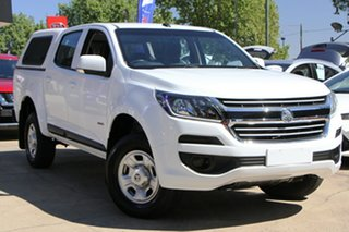 2017 Holden Colorado RG MY18 LS Crew Cab White 6 Speed Sports Automatic Cab Chassis.