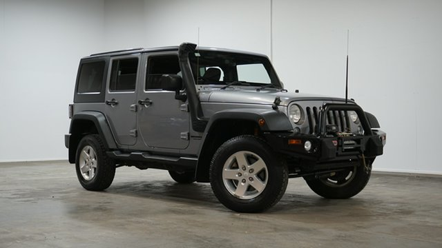 Used Jeep Wrangler JK MY2015 Unlimited Sport Welshpool, 2015 Jeep Wrangler JK MY2015 Unlimited Sport Silver 5 Speed Automatic Softtop