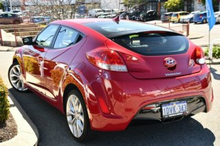 2012 Hyundai Veloster FS Coupe D-CT Red 6 Speed Sports Automatic Dual Clutch Hatchback.