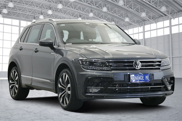 Used Volkswagen Tiguan 5N MY19.5 162TSI DSG 4MOTION Highline Victoria Park, 2019 Volkswagen Tiguan 5N MY19.5 162TSI DSG 4MOTION Highline Indium Grey 7 Speed
