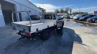 2019 Toyota Hilux TGN121R Workmate 4x2 Graphite 6 Speed Sports Automatic Cab Chassis