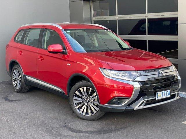 Used Mitsubishi Outlander ZL MY19 ES AWD Hobart, 2018 Mitsubishi Outlander ZL MY19 ES AWD Red 6 Speed Constant Variable Wagon