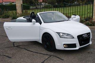 2011 Audi TT 8J MY12 2.0 TFSI Quattro White 6 Speed Direct Shift Roadster