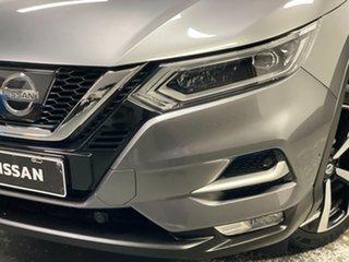 2017 Nissan Qashqai J11 Series 2 N-TEC X-tronic Gun Metallic 1 Speed Constant Variable Wagon.