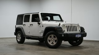 2015 Jeep Wrangler JK MY2015 Unlimited Sport White 6 Speed Manual Softtop.