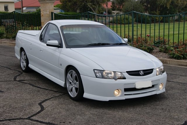 Used Holden Commodore VY SS Blair Athol, 2003 Holden Commodore VY SS White 4 Speed Automatic Utility