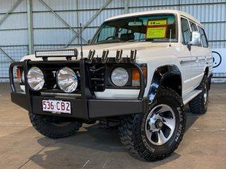 1985 Toyota Landcruiser FJ62RG Sahara White 5 Speed Manual Wagon.