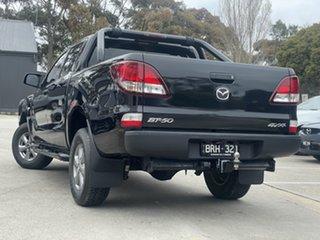 2018 Mazda BT-50 UR0YG1 XT Black 6 Speed Sports Automatic Utility.