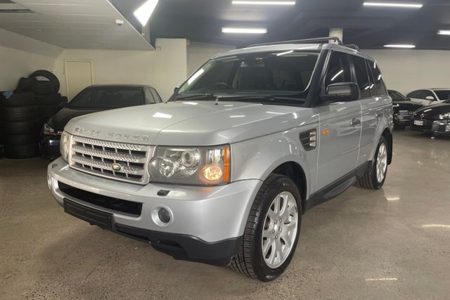 Used Land Rover Range Rover Sport L320 08MY TDV6 Albion, 2007 Land Rover Range Rover Sport L320 08MY TDV6 Silver 6 Speed Sports Automatic Wagon