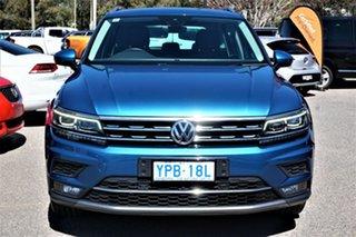 2017 Volkswagen Tiguan 5N MY17 162TSI DSG 4MOTION Highline Caribbean Blue 7 Speed.